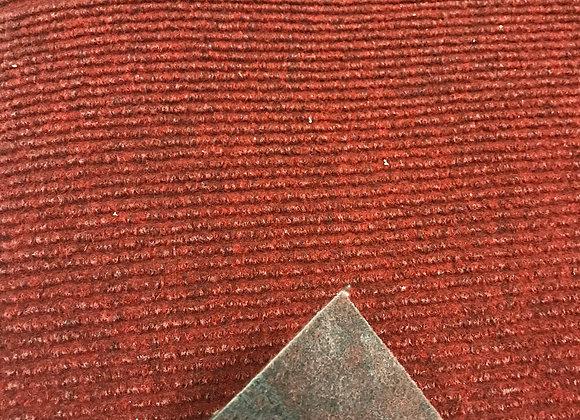 Passatoia Rosso Bordeaux  esterno interno scale condomini al taglio al metro