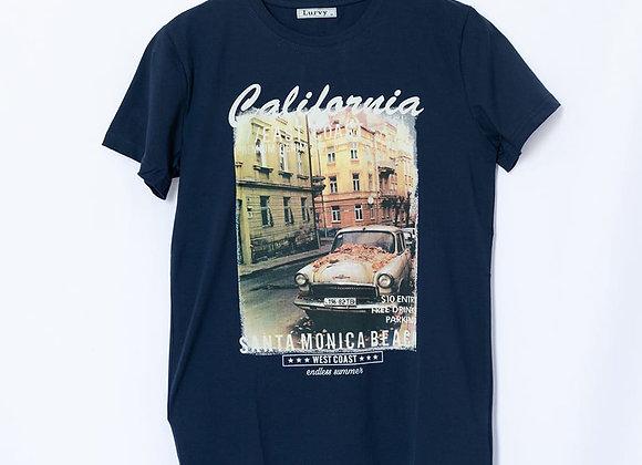 T-shirt stampa California
