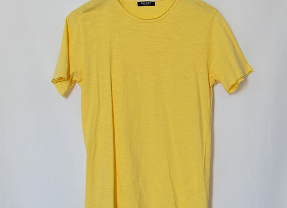 T-shirt girocollo taglio vivo
