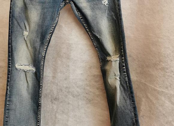Jeans uomo slim fit chiari