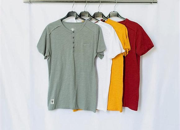 T-shirt serafino fiammato