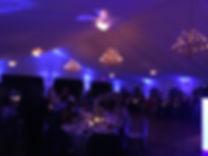 Tent Uplighting - New York, Grand View Events, Wireless Uplighting Redmax Events LLC