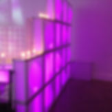Cubed Walls, LED Cubes | Long Island Event Production | Redmax Events LLC.