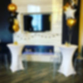 Cocktail Tables | Long Island Party Rentals | Ghost Stools | Redmax Events LLC