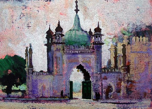 BRIGHTON PAVILION NORTH GATE by Colin Ruffell