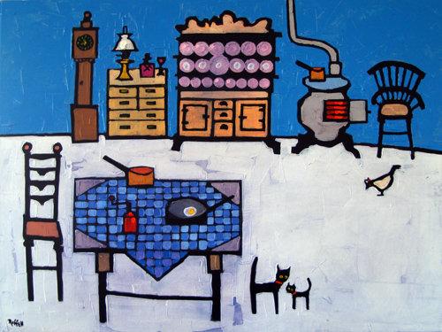 FARMHOUSE KITCHEN by Colin Ruffell