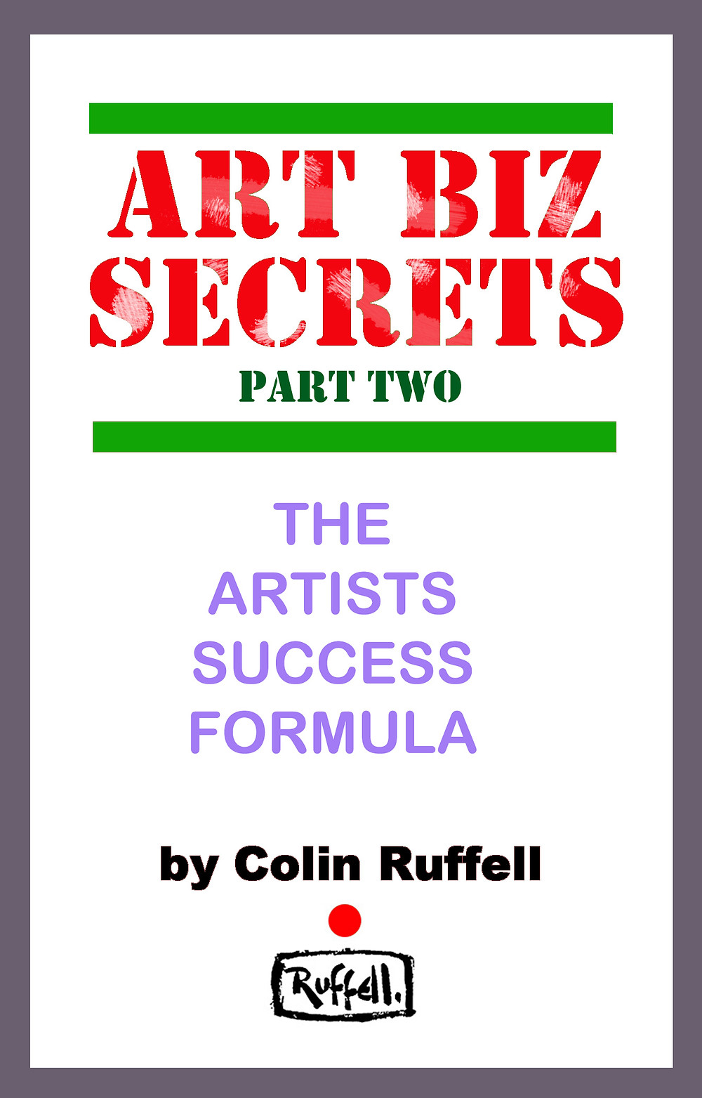 Art Biz Secrets part two book cover