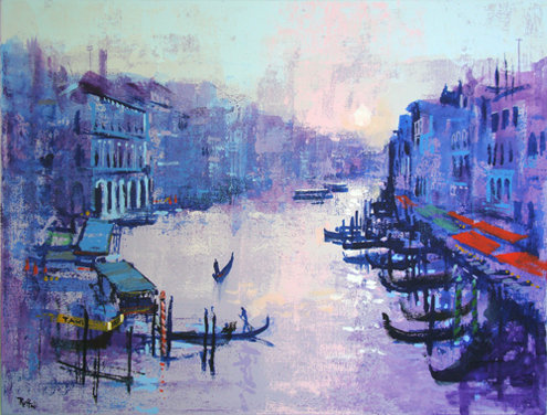 GRAND CANAL by Colin Ruffell