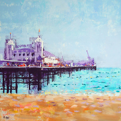 BRIGHTON PIER by Colin Ruffell