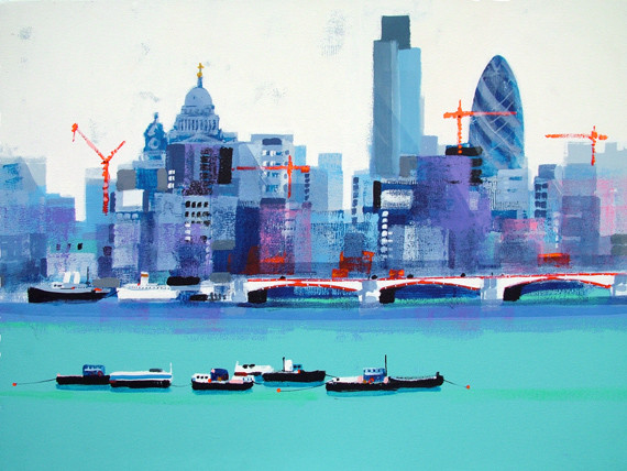 London Skyline by Colin Ruffell