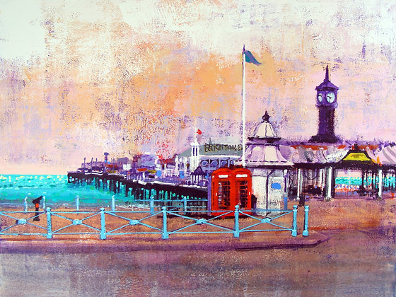 BRIGHTON PHONE BOXES by Colin Ruffell