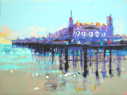 LETS PLAY ON PALACE PIER by Colin Ruffell