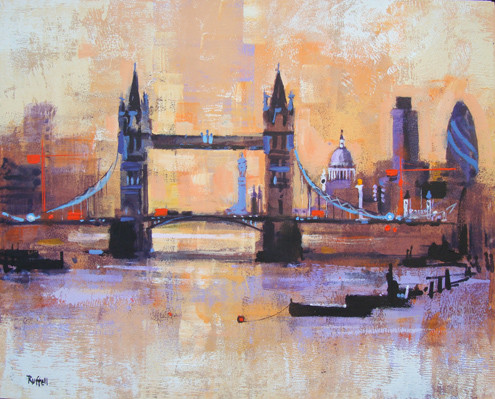 'Colours of London' by Colin Ruffell  [OAR 100293]