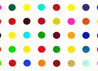 Damien Hirst success.