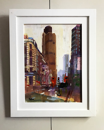'TOWER 42' the original painting by Colin Ruffell