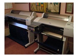 Epson 9600 and 7600 fine art printers