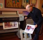 Colin Ruffell printing on Epson Stylus Pro 9600