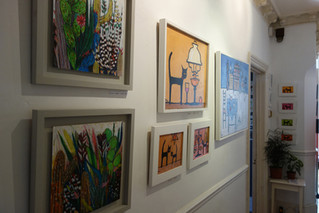 Artists Open House Exhibition... half way
