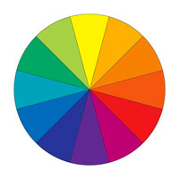 THE COLOUR CIRCLE [or COLOUR WHEEL]