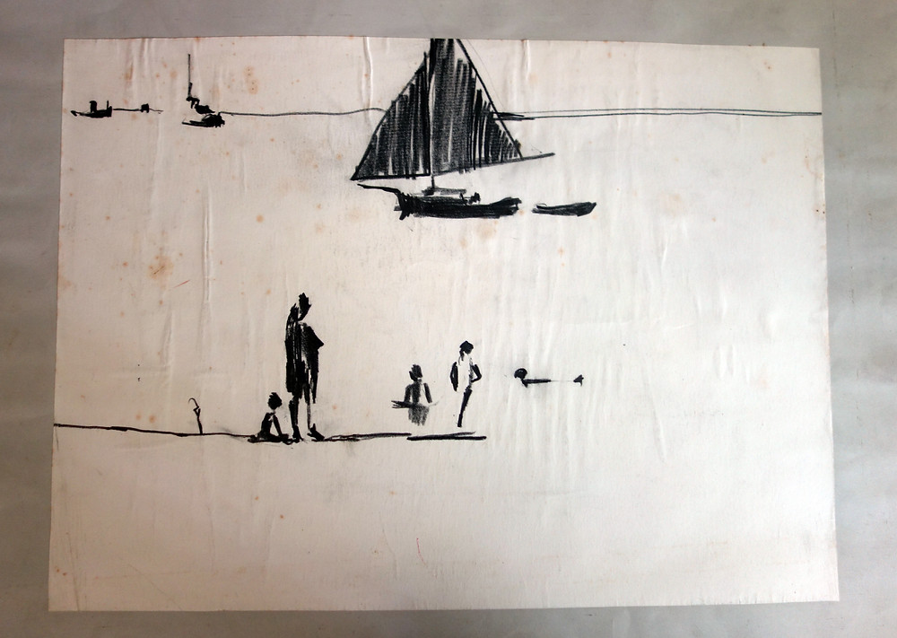 Colin Ruffell, Seaside drawing 1960
