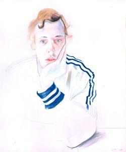 David Hockney drawing