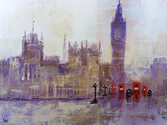 HOUSES OF PARLIAMENT by Colin Ruffell
