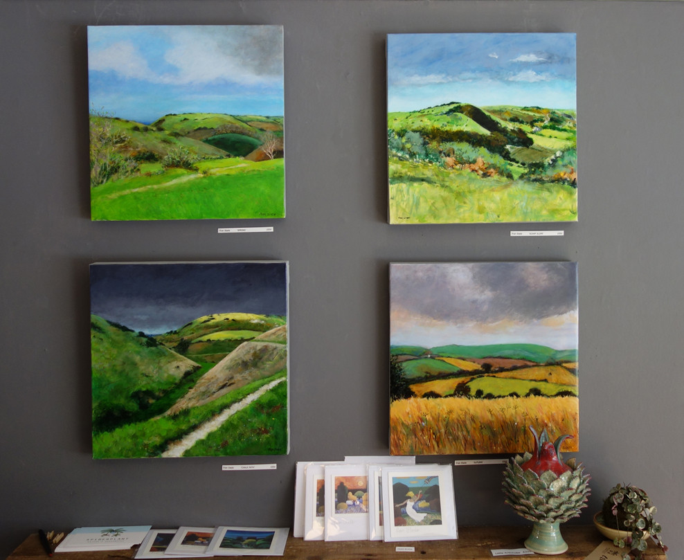 Fran Slade landscapes at AOH17