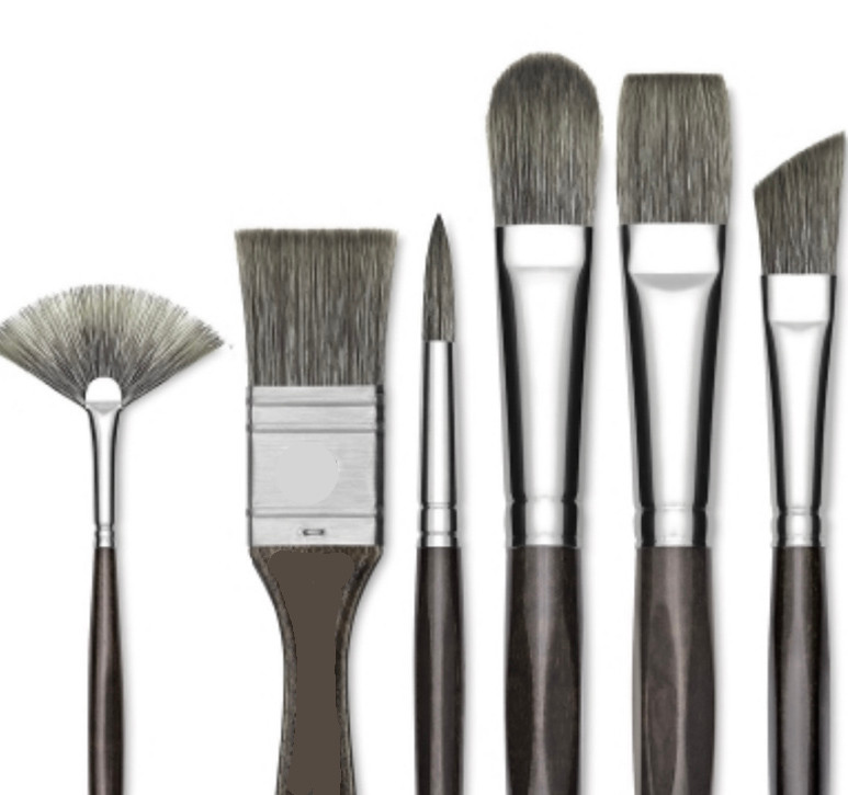 Some brush shapes