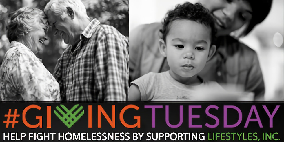 GIVING TUESDAY TO SUPPORT LIFESTYLES