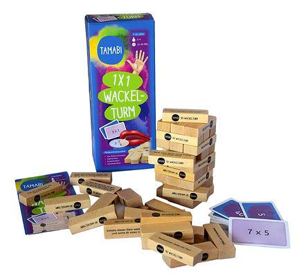 Das kleine Einmaleins, 1x1 Lernen, Lernspiele aus Holz ab 6 Jahre, Unterrichtsmaterial, Lehrmittel, Lehrmittel für die Grundschule