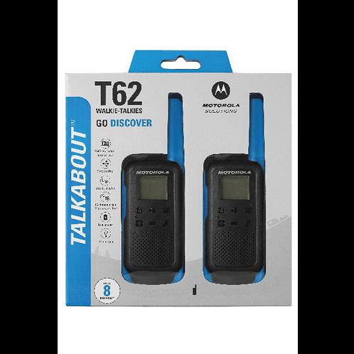 Motorola T62 Blue Twin Pack