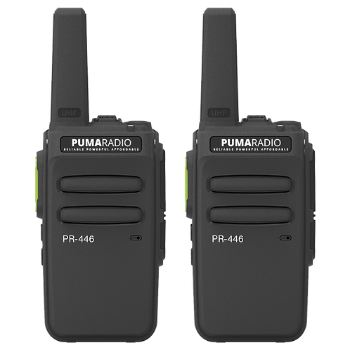 Pumaradio PR-446 Twin Pack