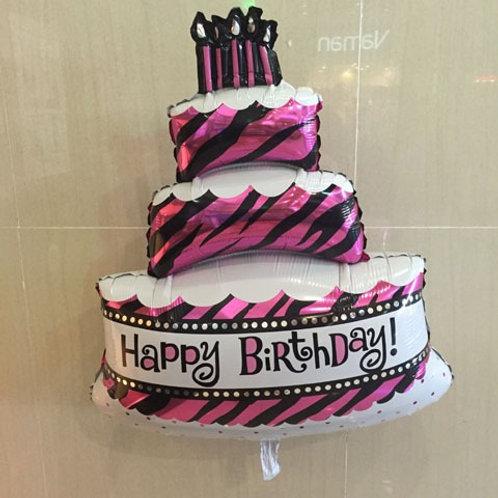 בלון בצורת עוגה