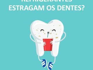Rferigerante mancham os dentes?