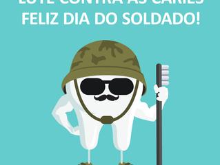 Feliz dia do soldado!