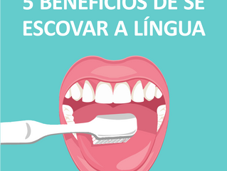 5 benefícios de se escovar a língua