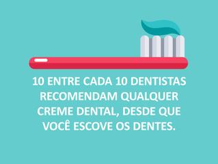 10 entre 10 dentistas.