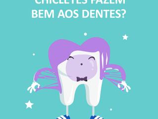 Chicletes fazem bem aos dentes?
