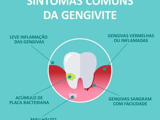 Sintomas da gengivite