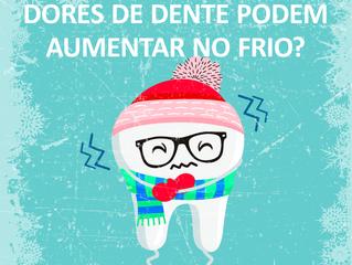 Dores de dente podem aumentar no frio?