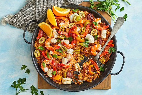 TAKEAWAY THURSDAYS #3 - 20 AUG: Paella - Seafood & Chorizo OR Gourmet Veg (VGO)