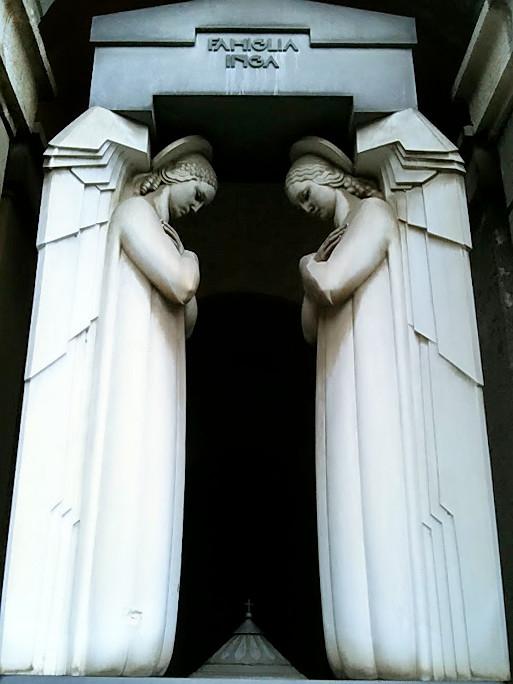 Arte funebre, cimitero di Staglieno, Genova.