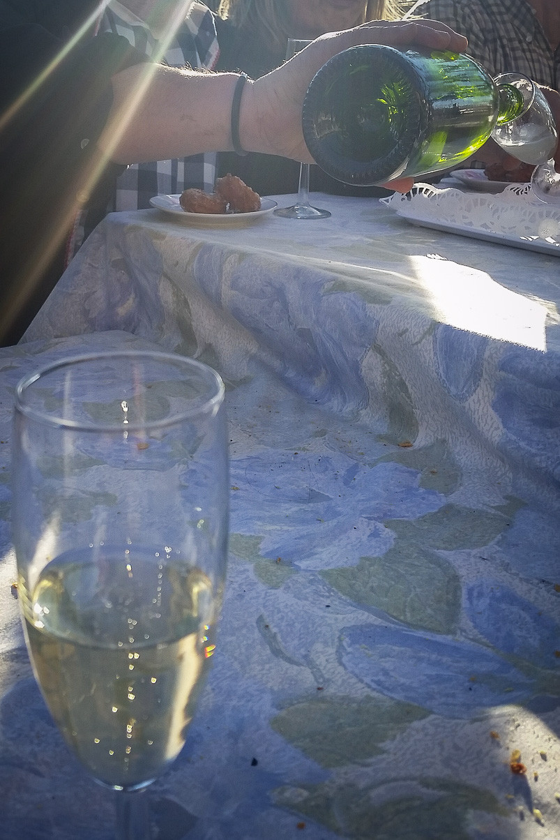 Cava, the traditional and famous catalan sparkly wine.