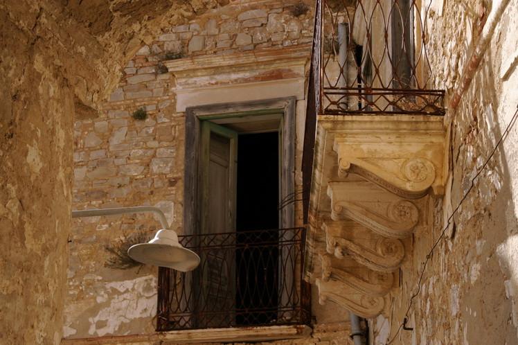 Case di Craco Vero, Basilicata Italia