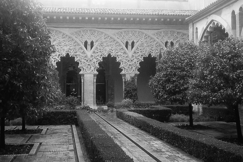 Zaragoza, Spain palacio Aljaferia.
