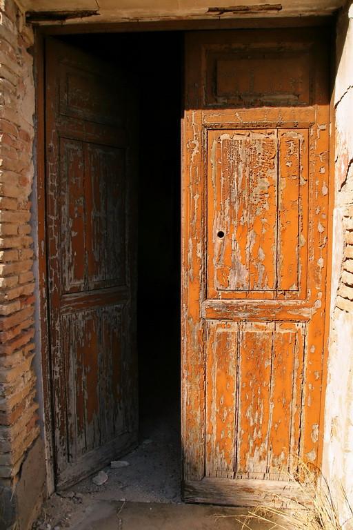 Craco Vero, Basilicata Italia, particolare