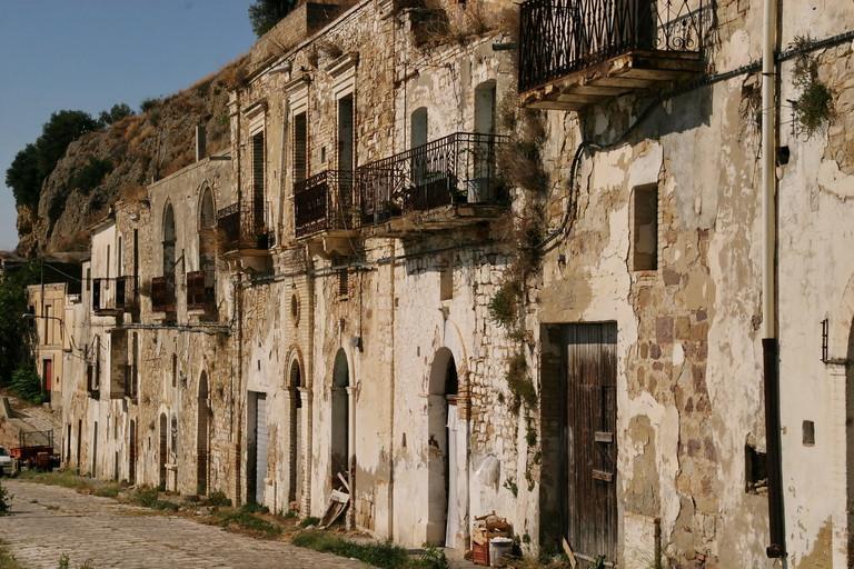 Case di Craco Vero, Basilicata, Italia