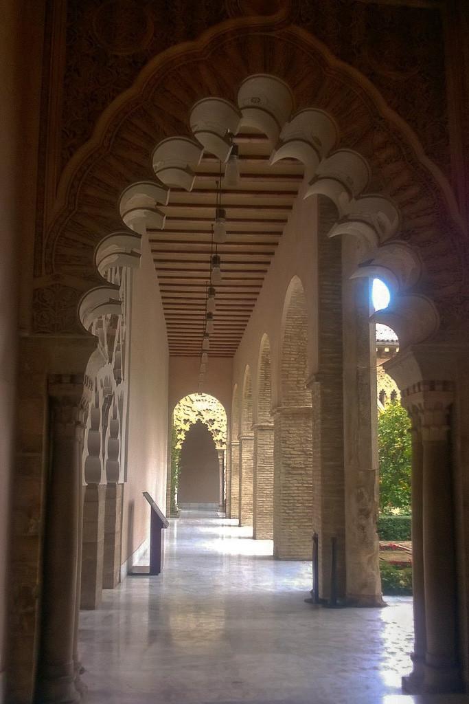 Palacio Aljaferia, Zaragoza, Spain.