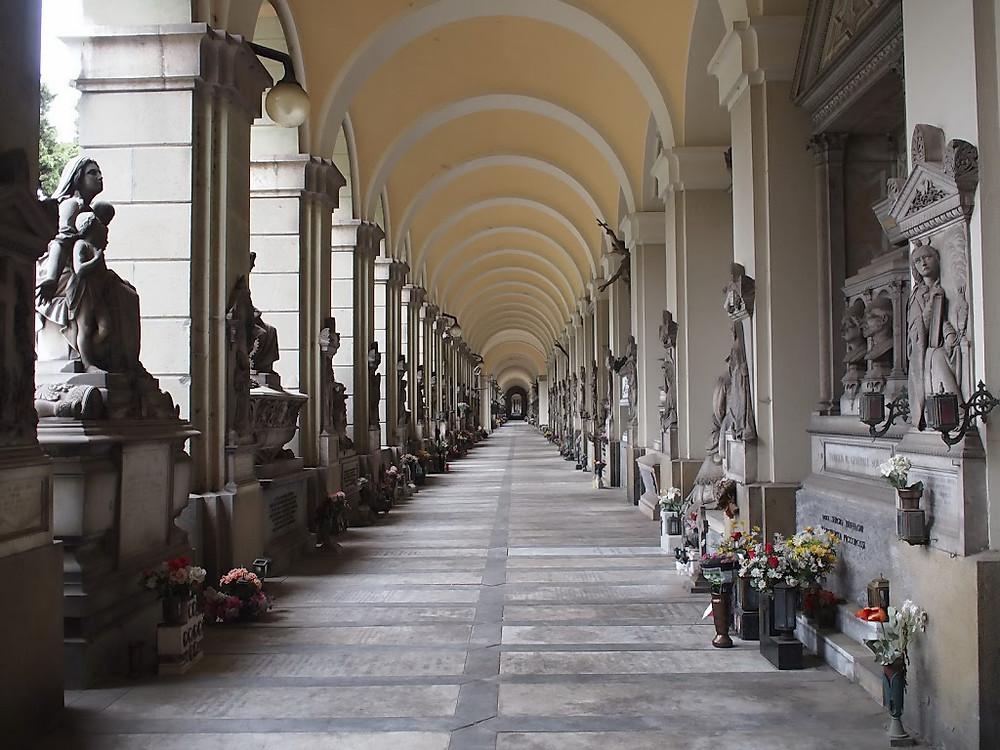 Genova, Cimitero Monumentale di Staglieno.