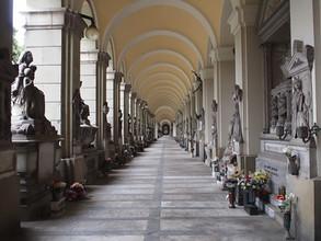 Genova, il Cimitero Monumentale di Staglieno.